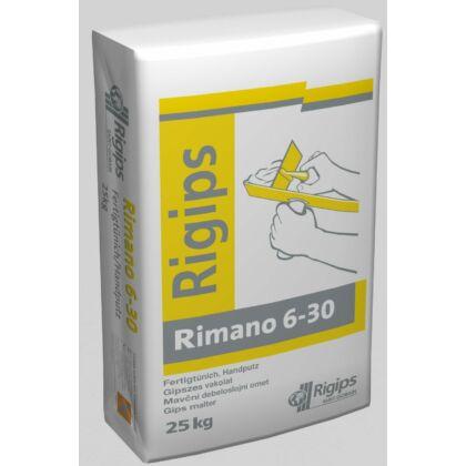 Rigips RIMANO 6-30 mm 25 kg vastag vakolat