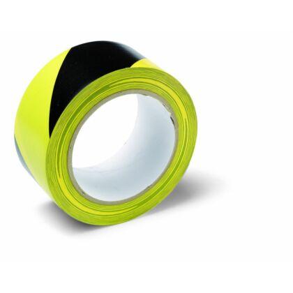 Schuller WARNING TAPE Veszélyt jelző ragasztószalag (50 mm x 33 m) - fekete/sárga
