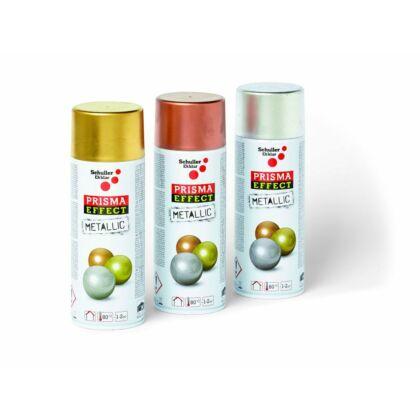 Schuller PRISMA EFFECT METALLIC PRO Akrillak spray metál - ezüst 400 ml