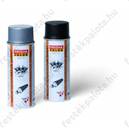 Schuller PRISMA TECH HEAT Lakkspray 600°C-ig hőálló, fekete - 400 ml