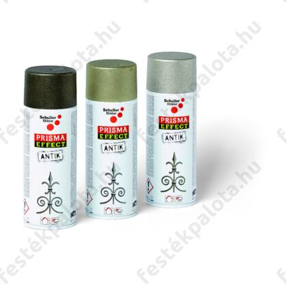 Schuller PRISMA EFFECT ANTIK Lakkspray dekor - fekete - 400 ml