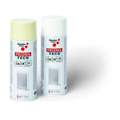 Schuller PRISMA TECH RADIATOR Radiátorspray RAL 9001 - krémfehér 400 ml - 120 C-ig