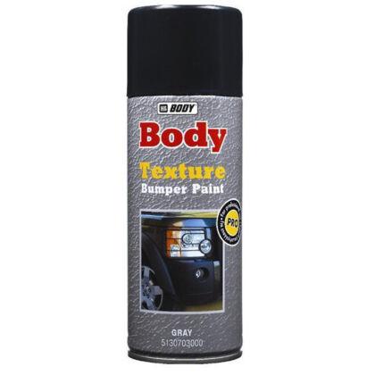 HB BODY 513 Textura BUMPER PAINT műanyag lökhárító spray 400ml fekete