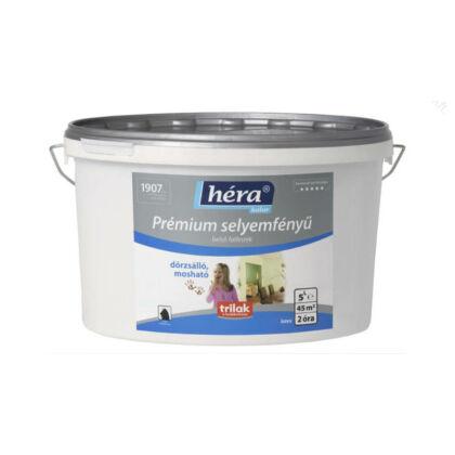 HÉRA Prémium belső falfesték 16 l selyemfényű (üvegszövetre) fehér