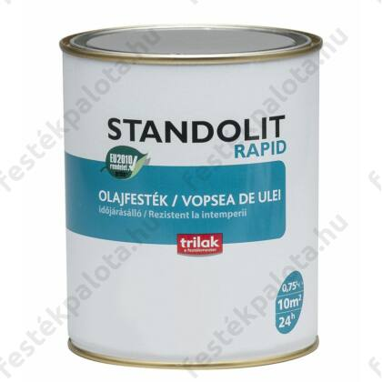 STANDOLIT Rapid olajfesték 0,75 l 200 szürke