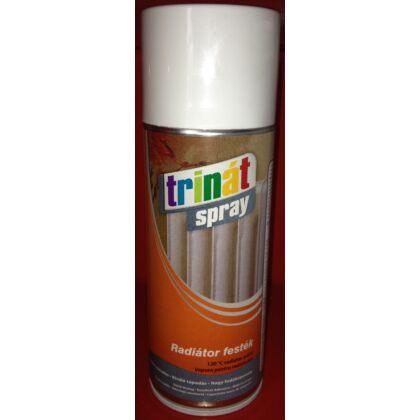 TRINÁT spray radiátor festék 400 ml fehér
