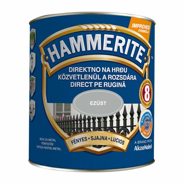 Hammerite fémfesték 2,5 l fényes ezüst
