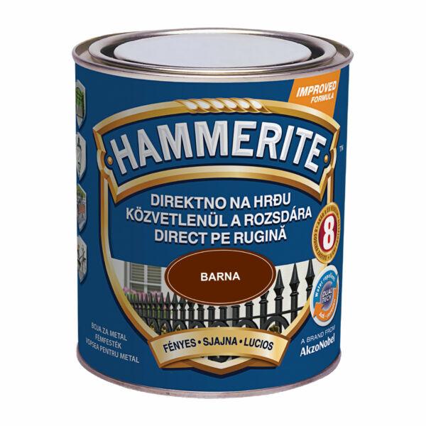 Hammerite fémfesték 0,75 l fényes barna