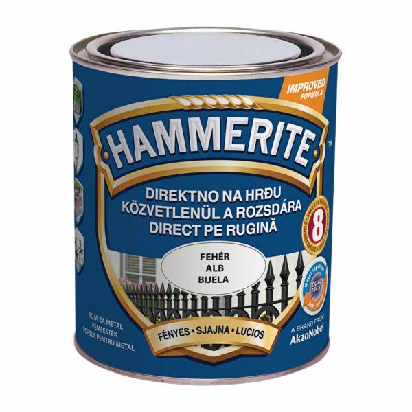 Hammerite fémfesték 0,75 l fényes fehér