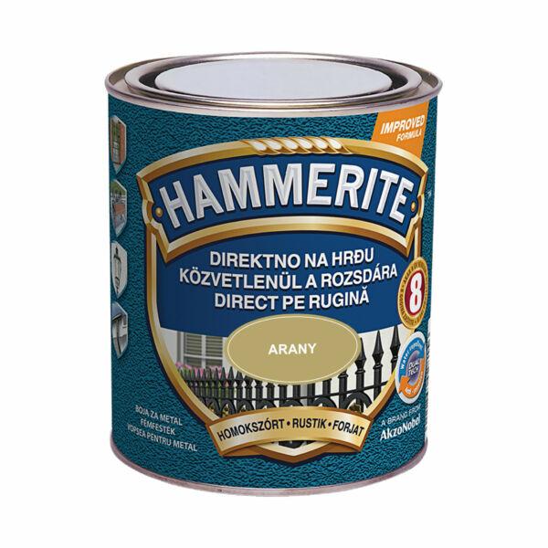Hammerite fémfesték homokszórt 0,75 l arany
