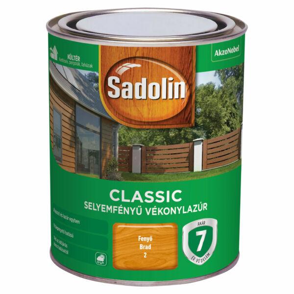 Sadolin CLASSIC vékonylazúr 0,75 l fenyő