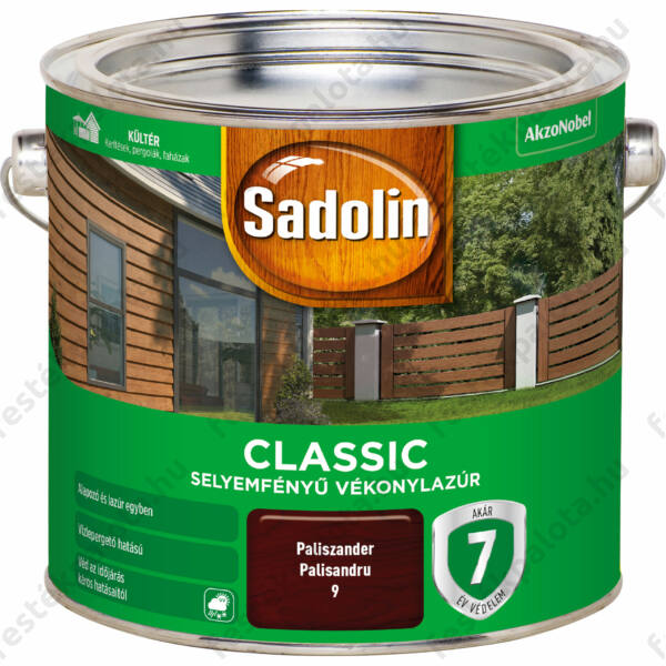 Sadolin CLASSIC vékonylazúr 2,5 l paliszander