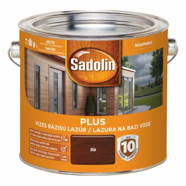 Sadolin PLUS vastaglazúr 2,5 l dió