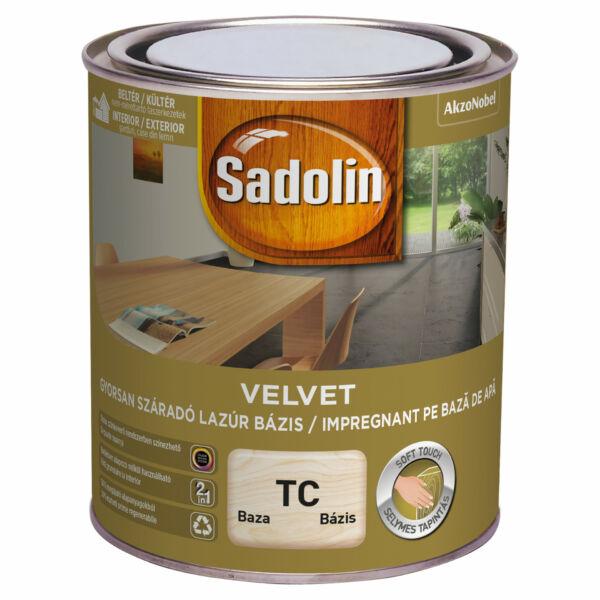 Sadolin Velvet vízes lazúr TC 0,75 l bázis