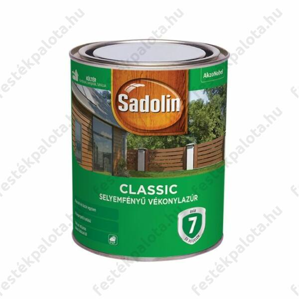 Sadolin CLASSIC sf. vékonylazúr 0,75 l színtelen