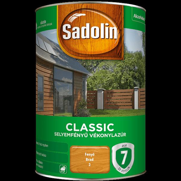 Sadolin CLASSIC sf. vékonylazúr 5 l Rusztikus tölgy