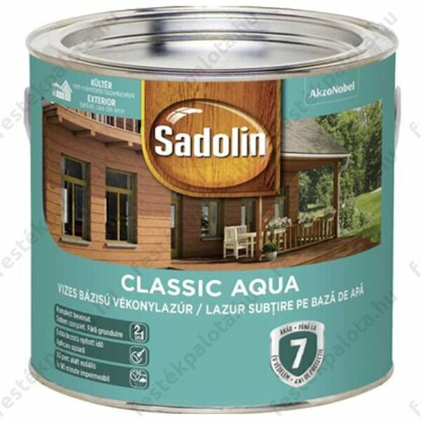 Sadolin CLASSIC vizes vékonylazúr 2,5 l cseresznye