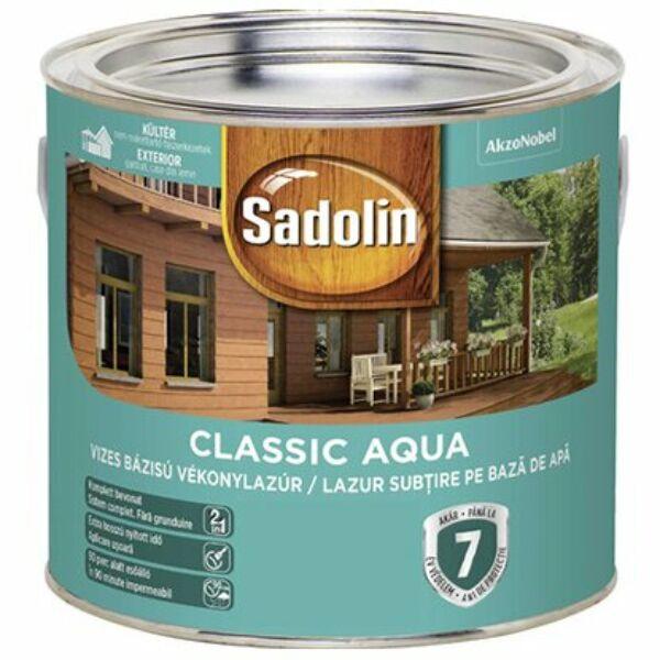 Sadolin CLASSIC vizes vékonylazúr 2,5 l dió