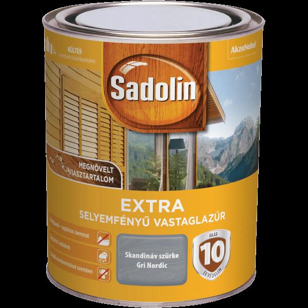 Sadolin Extra vastaglazúr 5 l mahagóni