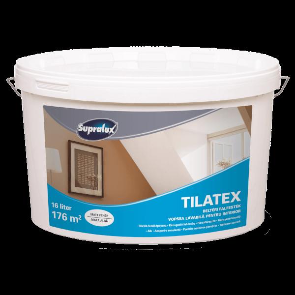 Tilatex beltéri diszperzíós falfesték 4 l fehér