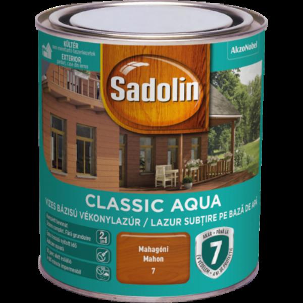 Sadolin CLASSIC vizes vékonylazúr 0,75 l paliszander