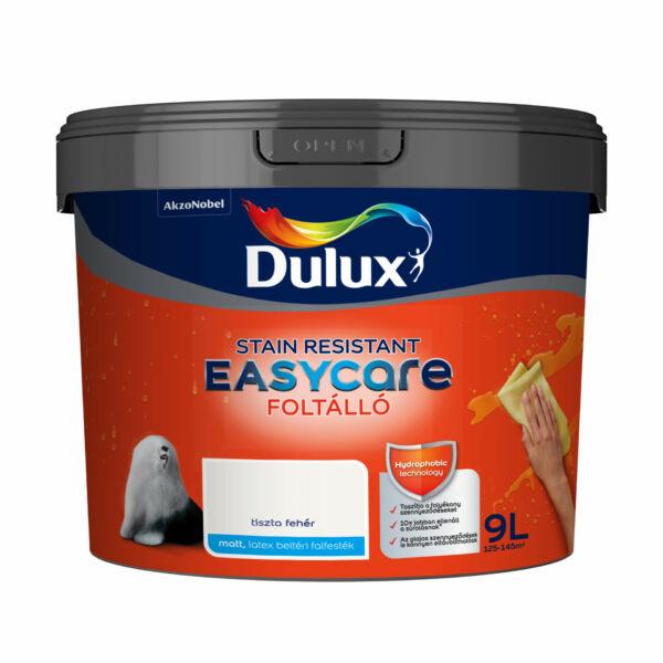 Dulux EasyCare víztaszító foltálló falfesték 9 l Tiszta fehér