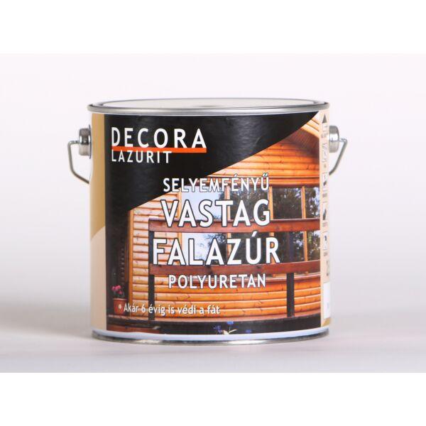 DECORA LAZURIT vastag falazúr 2,5 l sf. teak