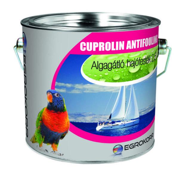 Cuprolin antifouling festék algagátló 1 l szürke