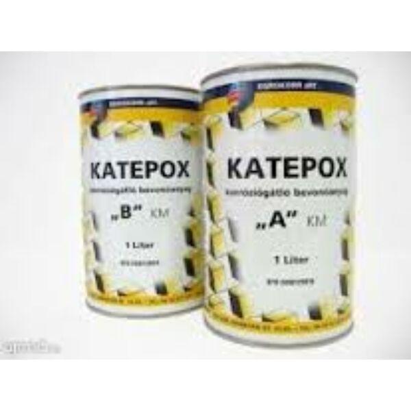 KATEPOX B korróziógátló bevonóanyag 1 l 300 fekete
