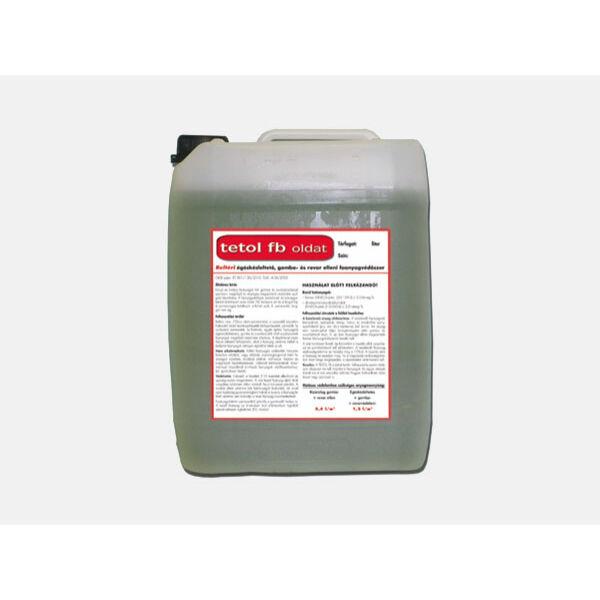 TETOL FB faanyagvédőszer oldat 10 l gomba- és rovar ellen /zöld