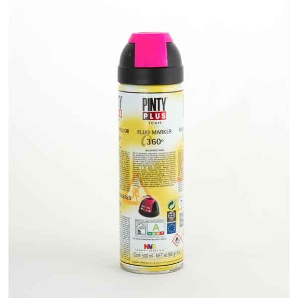 PINTY PLUS Tech jelölő spray 500 ml T148 pink