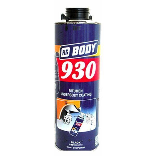 HB BODY 930 alvázvédő 1 l fekete (pisztolyhoz)