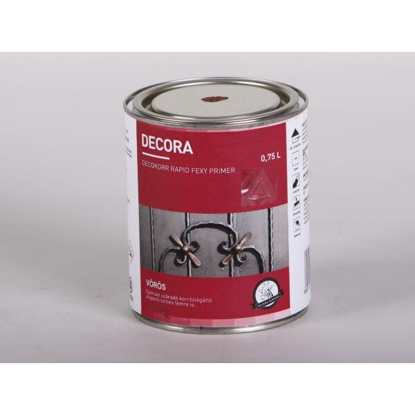 DECORA Decokorr Primer alapozó rozsdagátló 0,75 l 800 vörös