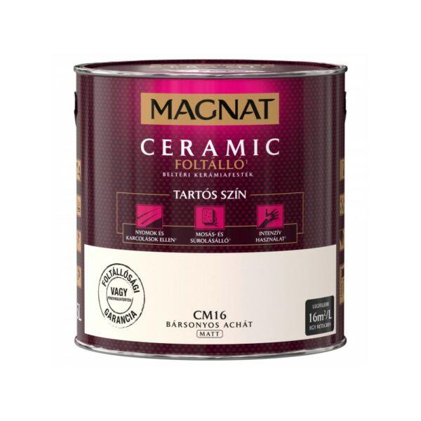 Magnat Ceramic 2,5 l Bársonyos achát CM16 foltálló beltéri kerámiafesték AKCIÓ