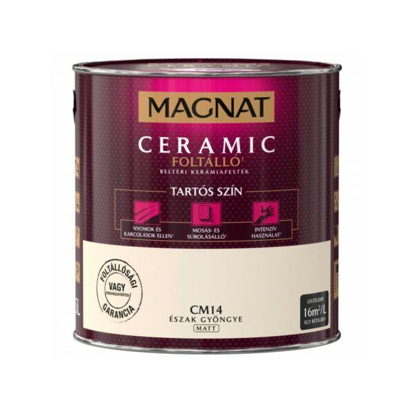 Magnat Ceramic 2,5 l Észak gyöngye CM14 foltálló beltéri kerámiafesték AKCIÓ