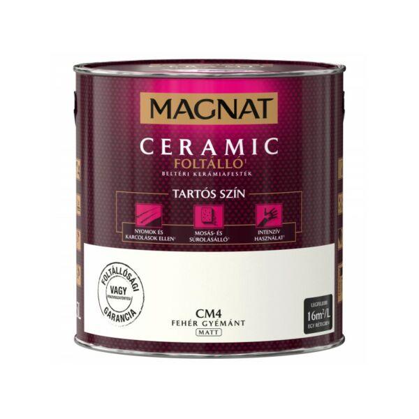 Magnat Ceramic 2,5 l Fehér gyémánt CM4 foltálló beltéri kerámiafesték