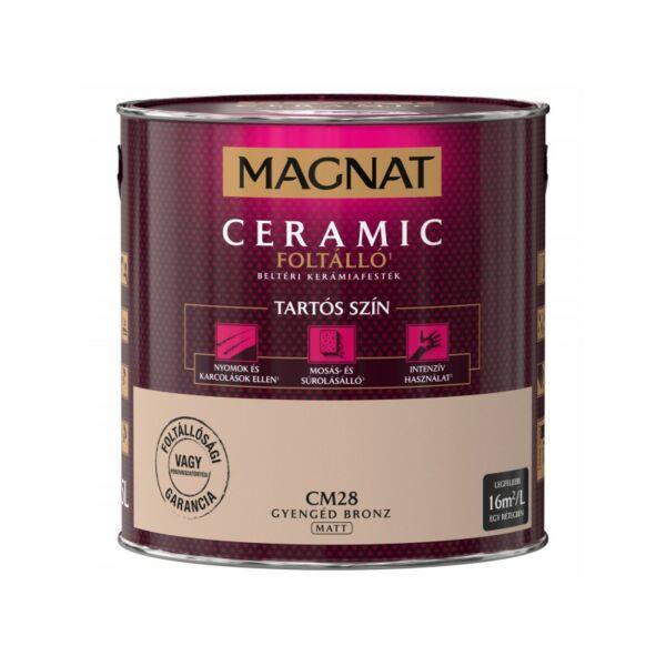 Magnat Ceramic 2,5 l Gyengéd bronz CM28 foltálló beltéri kerámiafesték AKCIÓ