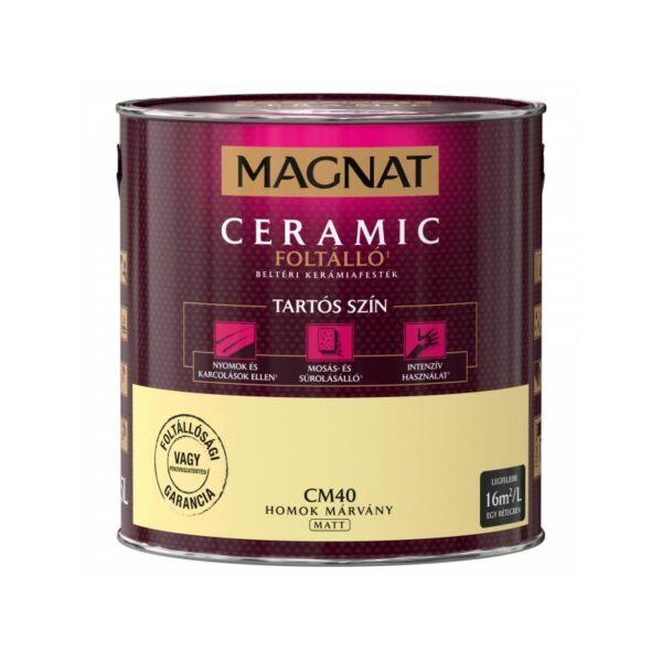 Magnat Ceramic 2,5 l Homok márvány CM40 foltálló beltéri kerámiafesték AKCIÓ