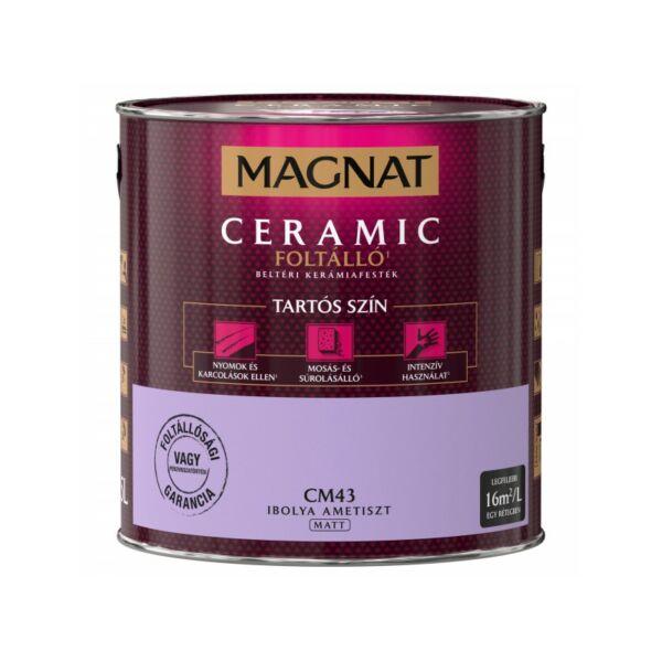 Magnat Ceramic 2,5 l Ibolya ametiszt CM43 foltálló beltéri kerámiafesték AKCIÓ