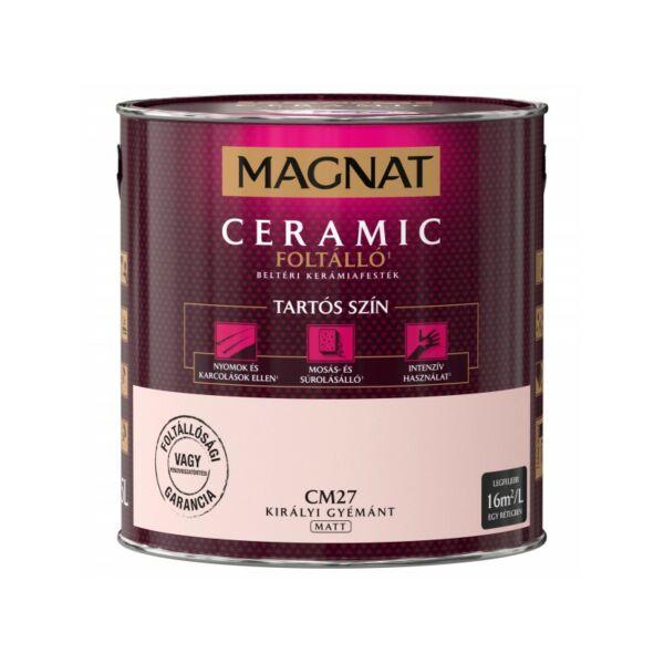 Magnat Ceramic 2,5 l Királyi gyémánt CM27 foltálló beltéri kerámiafesték AKCIÓ