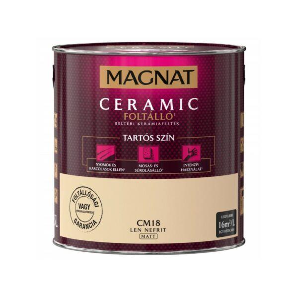 Magnat Ceramic 2,5 l Len nefrit CM18 foltálló beltéri kerámiafesték AKCIÓ