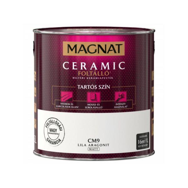 Magnat Ceramic 2,5 l Lila aragonit CM9 foltálló beltéri kerámiafesték AKCIÓ