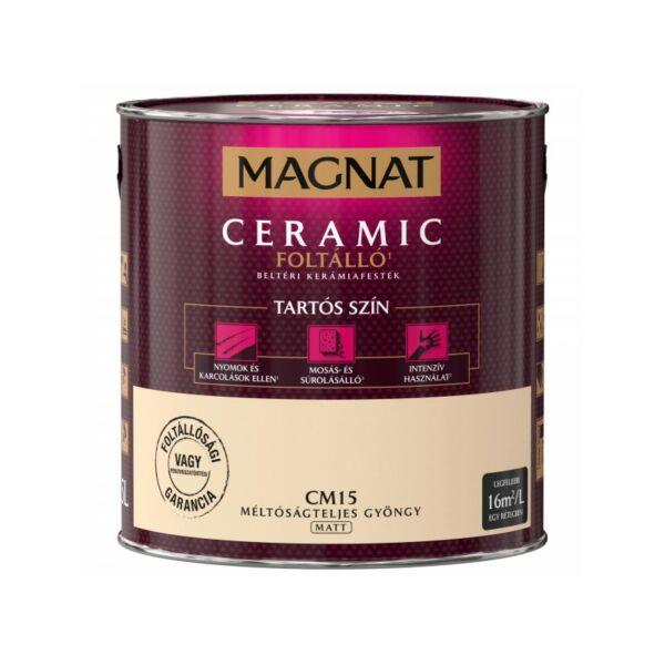 Magnat Ceramic 2,5 l Méltóságteljes gyöngy CM15 foltálló beltéri kerámiafesték AKCIÓ