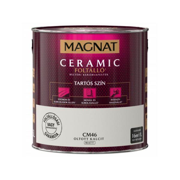 Magnat Ceramic 2,5 l Oltott kalcit CM46 foltálló beltéri kerámiafesték AKCIÓ
