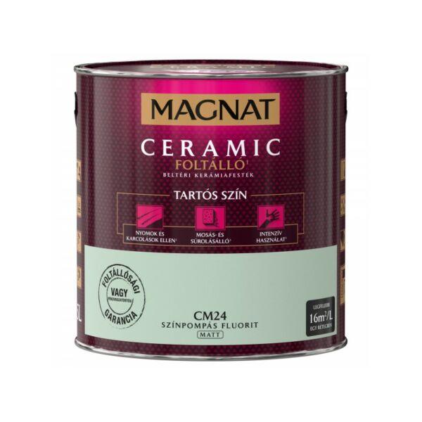 Magnat Ceramic 2,5 l Színpompás fluorit CM24 foltálló beltéri kerámiafesték AKCIÓ