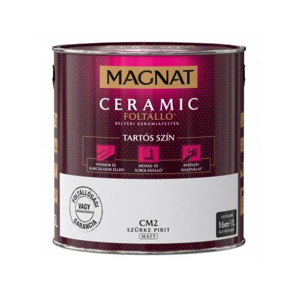 Magnat Ceramic 2,5 l Szürke pirit CM2 foltálló beltéri kerámiafesték AKCIÓ