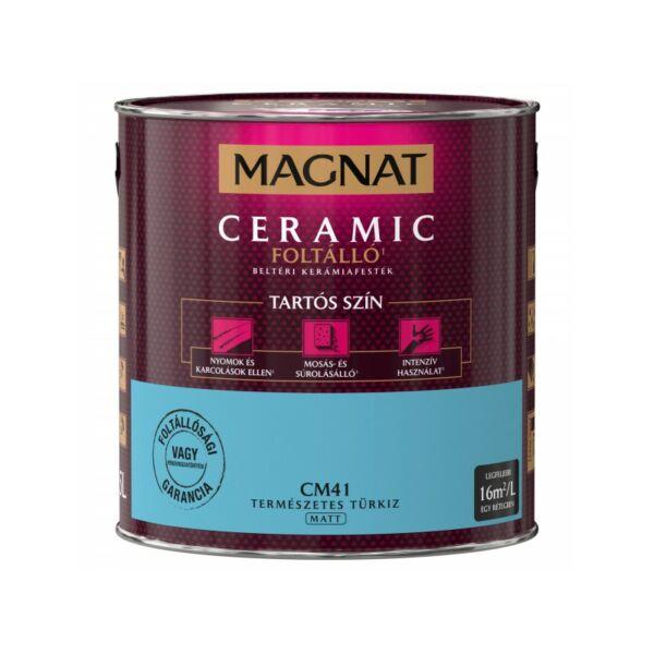 Magnat Ceramic 2,5 l Természetes türkiz CM41 foltálló beltéri kerámiafesték AKCIÓ